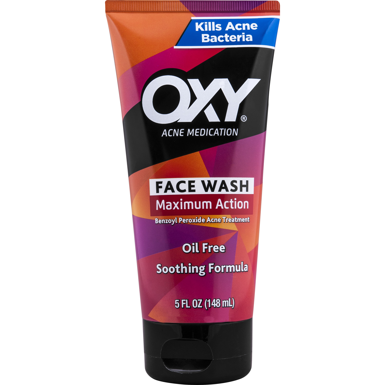 Oxy Rapid Treatment Face Wash, 5 Fl Oz