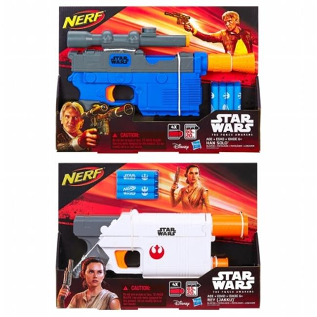 Hasbro HSBB3970 Star War Episode 7 Blaster Class II Assorted , Pack of 6 by