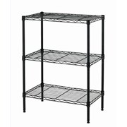 bestoffice new wire shelving cart unit 3 shelves shelf rack layer tier - Wire Shelving Units