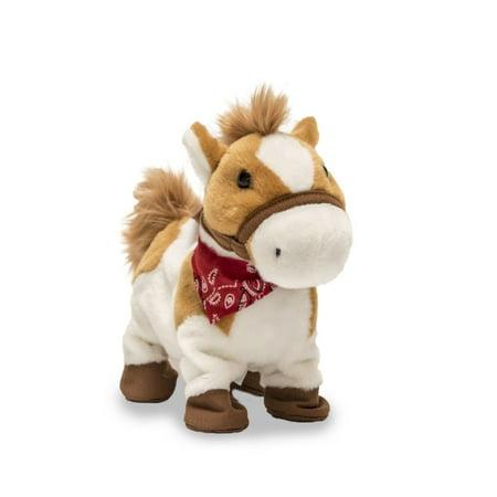 Rusty Horse 10 inch Animated Plush - Stuffed Animal by Cuddle Barn (71051)](Stuffed Animal Horses)