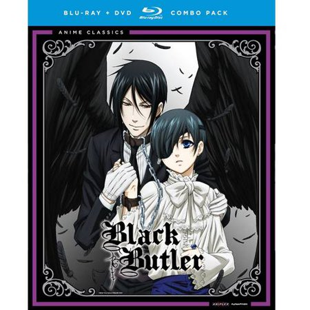 Black Butler  The Complete First Season  Japanese   Blu Ray   Dvd