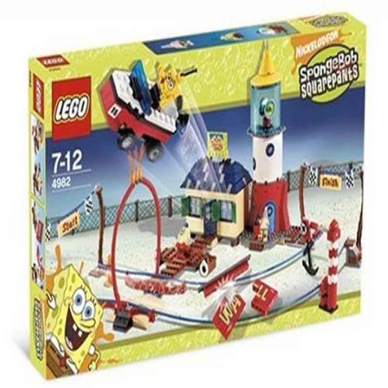 Lego Spongebob Squarepants Mrs. Puff's Boating School 4982 by