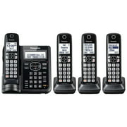 Panasonic Cordless Phones with Answering Machine - 4 Handsets