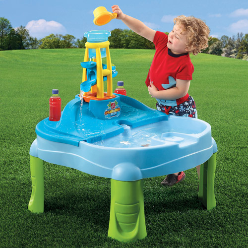 Sandbox Sand Water Table Kids Toddler Play Toy Outdoor Box