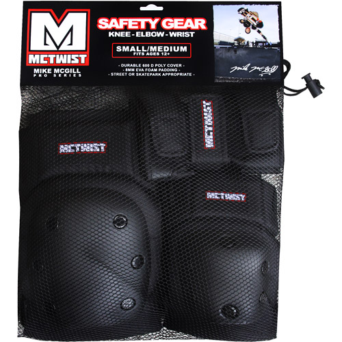 McTwist 6-Piece Pad Set by Mike McGill, Black