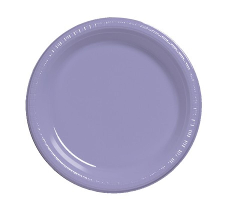 Club Pack of 240 Luscious Lavender Purple Disposable Divi...