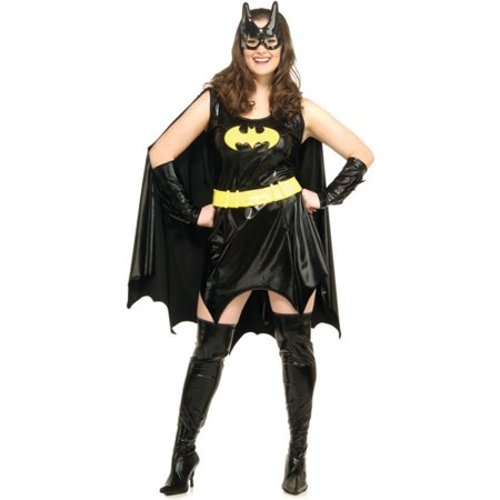 Morris Costumes Womens Sleeveless Batgirl Complete Outfit Plus Size, Style RU17441 - Complete Womens Outfits