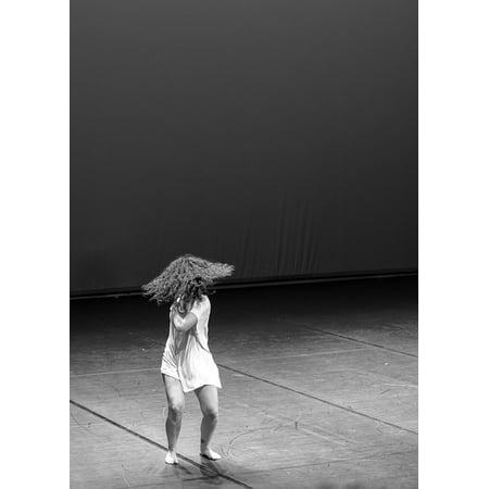 canvas print theater dance movement woman art csene stretched canvas 10 x - Theatre Movement