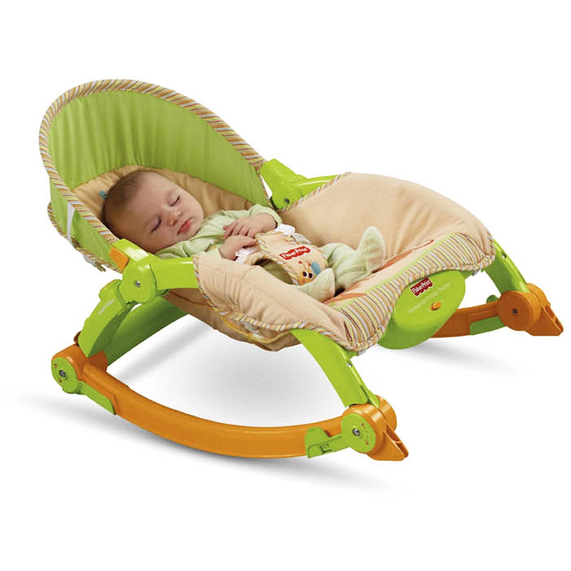 Fisher-Price - Newborn to Toddler Portable Rocker