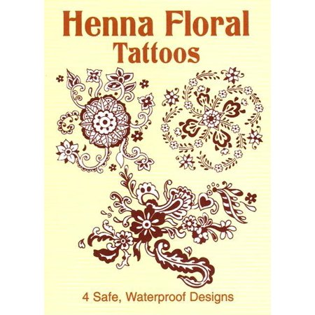 Henna Floral Tattoos - Dover Tattoos: Henna Floral Tattoos (Other)