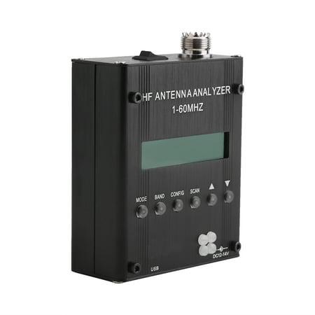 Lv. life MR300 Digital Shortwave Antenna Analyzer Meter Tester 1-60M For Ham Radio, Shortwave Meter, Antenna