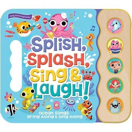 Caroling Sing Along Book (Splish, Splash, Sing and Laugh (Board Book))