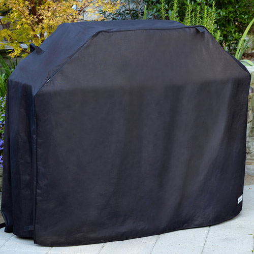 "Sure Fit 60"" Medium Premium Grill Cover, Black"