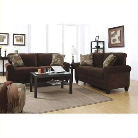 Serta RTA Trinidad 2 Piece Fabric Sofa Set in (Living Room Sets For Sale In Trinidad)