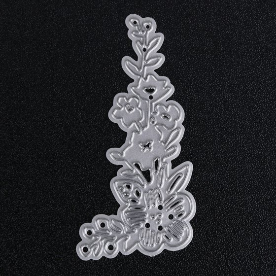 Electronic Components & Supplies Useful Flowers Trees Leaves Metal Cutting Dies For Diy Scrapbooking Plant Stamp Steel Embossing Craft Greeting Cards New 2019 To Ensure Smooth Transmission