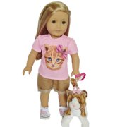 My Brittany's  Outfit for American Girl Dolls and My Life as Dolls-18 Inch Doll Clothes for American Girl Dolls- Doll and Cat are not included