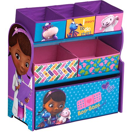 Disney Doc Mcstuffins Room In A Box With Bonus Toy Bin