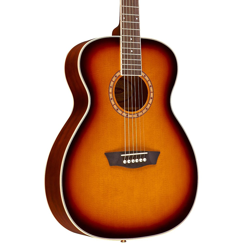 Washburn WF110DL Folk Acoustic Guitar 3-Color Burst