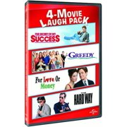 4-Movie Laugh Pack: The Secret of My Success   Greedy   For Love or Money   The Hard Way by