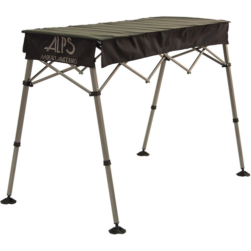 Alps Mountaineering Camp Table Guide Adjustable 22x61x42 Black 8352003