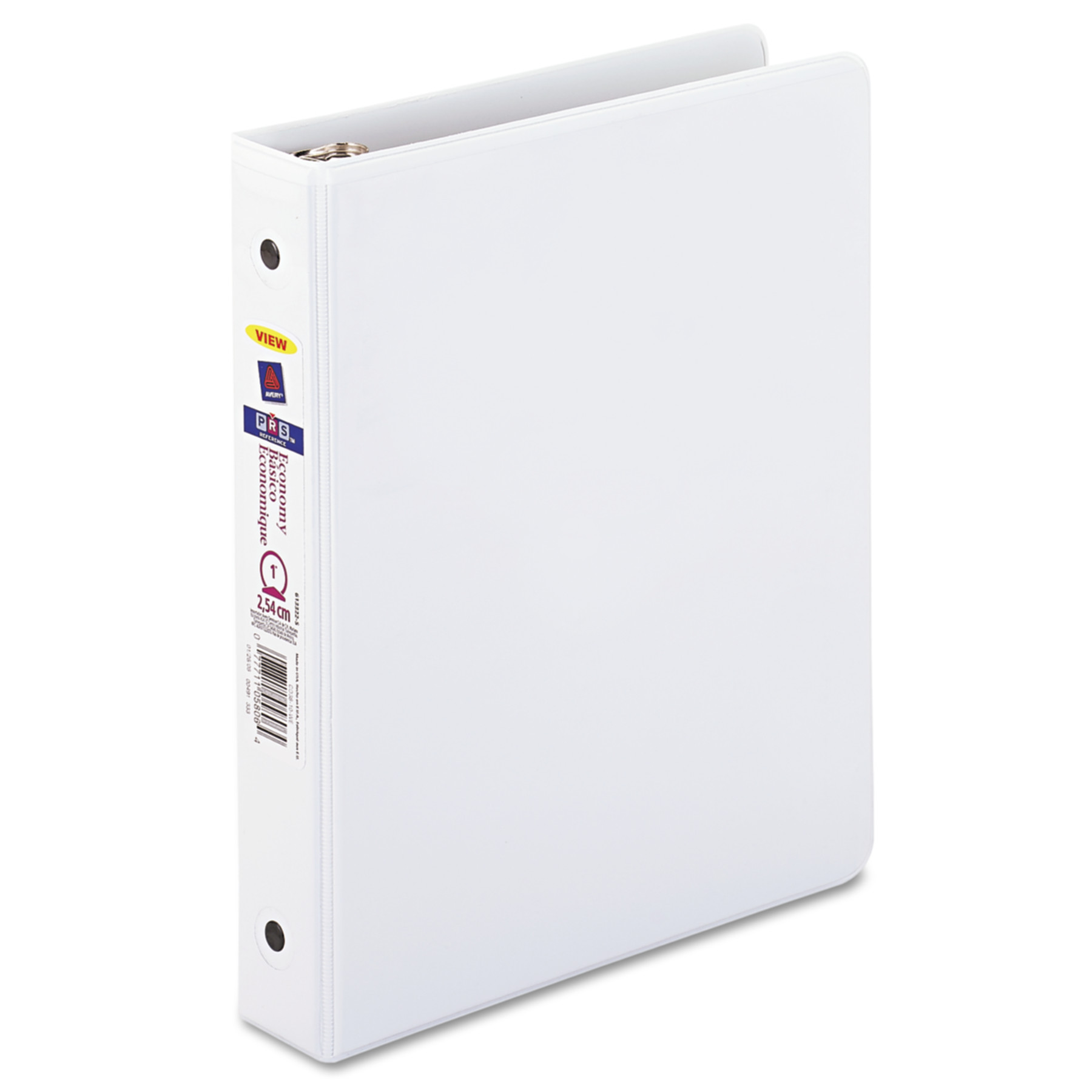 "Avery 1"" Mini Economy View Binder, Round Rings, White"