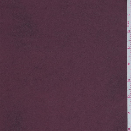 Maroon Pleather, Fabric By the Yard