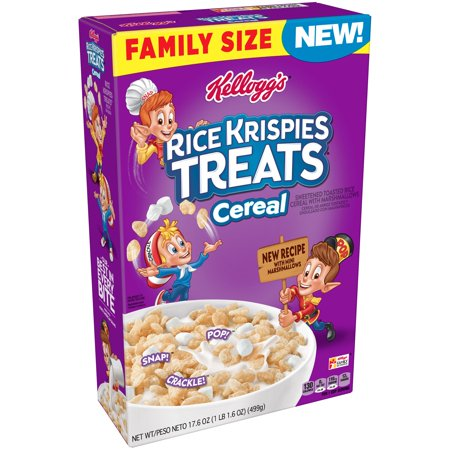 Kellogg's Rice Krispies Treats Frosted Breakfast Cereal 17.6 Oz](Rice Krispies Recipes For Halloween)