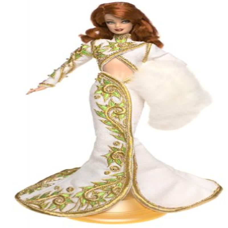 Mattel Barbie Radiant Redhead Barbie Doll Bob Mackie - Re...