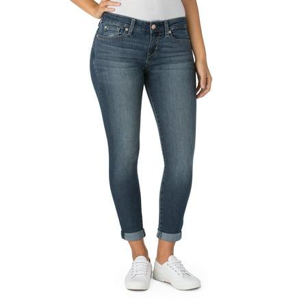 Women's Modern Simply Stretch Capri Jeans