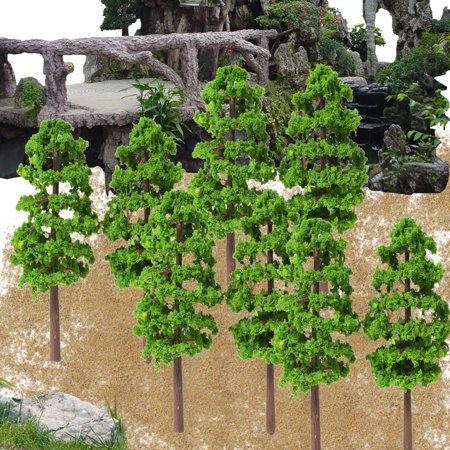 Model Trees Mini Scenery Landscape Architecture Train Railroad Trees - Architecture Model Kits