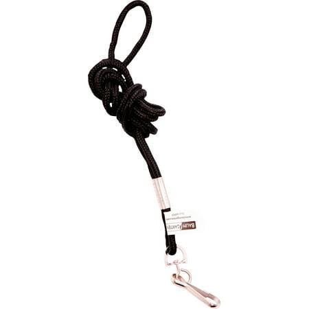 SICURIX, BAU68909, Standard Rope Lanyard, 1 Each, Black