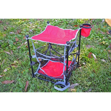 ozark trail folding end table outdoor camp portable mesh
