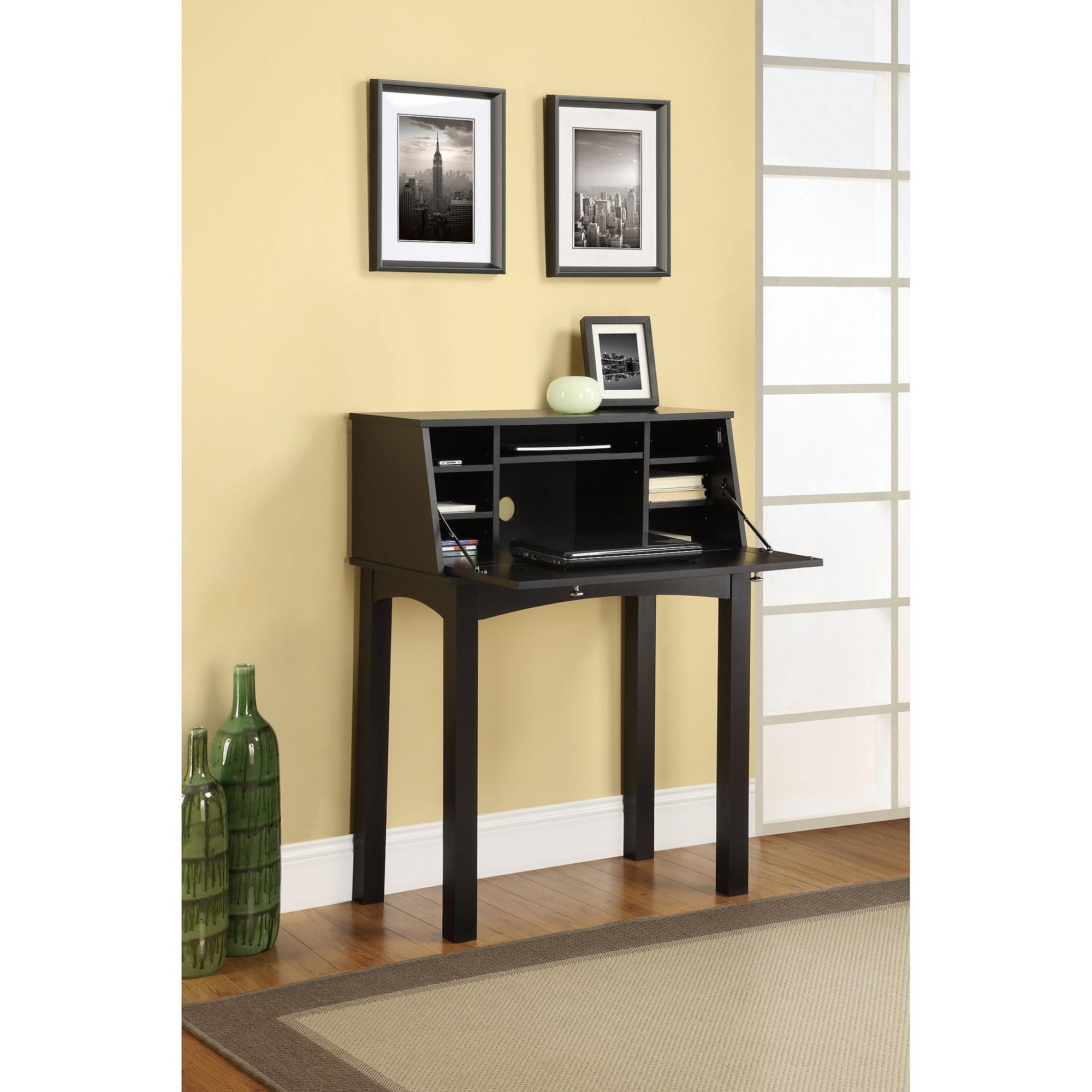 Altra Parsons Secretary Desk, Black