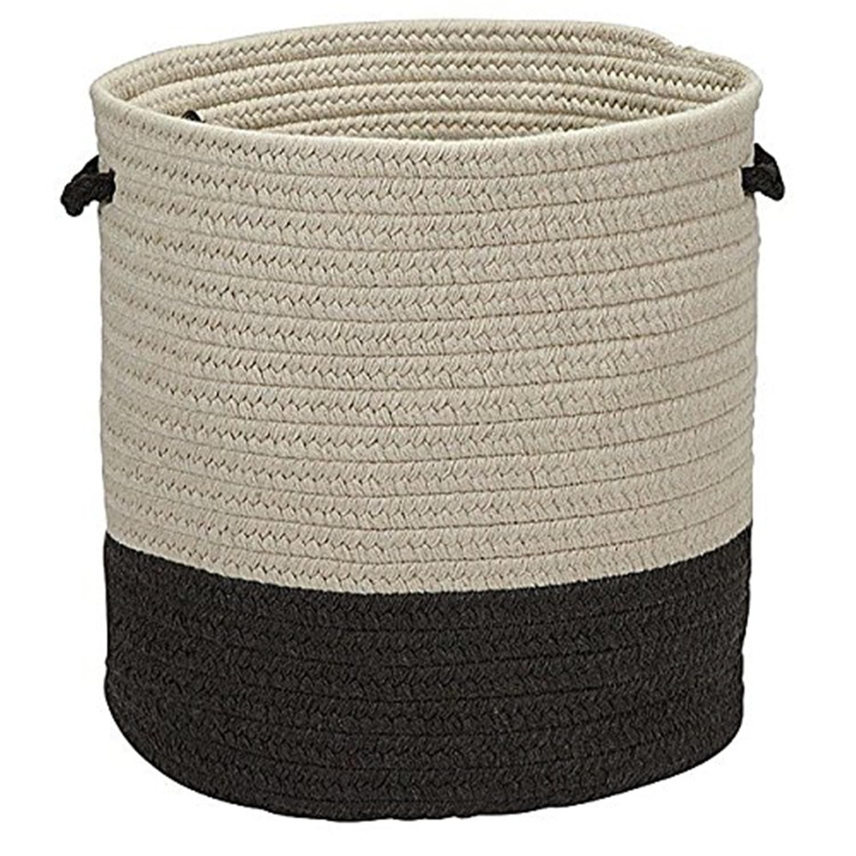 Colonial Mills Sunbrella Solid Basket 16x16x11 Ash