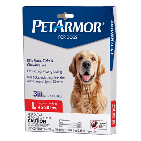 PetArmor Flea & Tick Prevention for Dogs (45-88 lbs), 3 (Bio Flea And Tick Spot On Reviews)