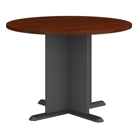 Bush Business Series A/C 42 Inch Round Conference Table in Cherry - image 6 de 7