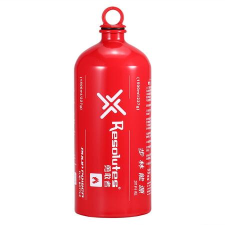 Outdoor Camping Fuel Bottle Alcohol Petrol Kerosene Storage Bottle Fuel Can Empty Bottle 500ML / 750ML / 1000ML / 1500ML