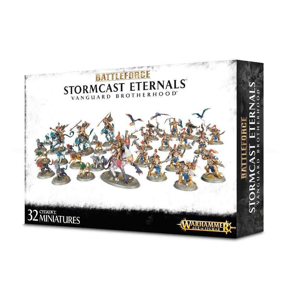 Battleforce: Stormcast Eternals Vanguard Brotherhood Warhammer Age of Sigmar by Games Workshop
