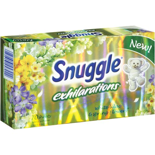 Snuggle White Lilac 70 Ct