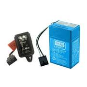 Power Wheels Super 6 Volt Blue Battery & Blue Charger Kit, PWBBKIT