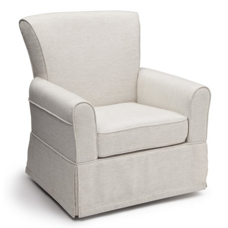 Delta Children Epic Nursery Glider Swivel Rocker Chair Sand