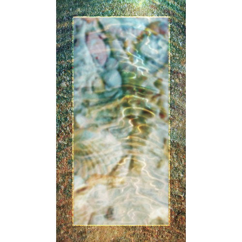 No Slip Mat by Versatraction Kahuna Grip Water Ripples Shower Mat