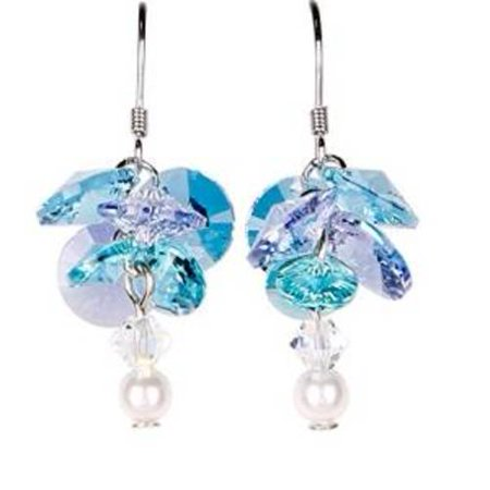 Woodstock Jewels Garden Reflections Swarovski Elements Earrings