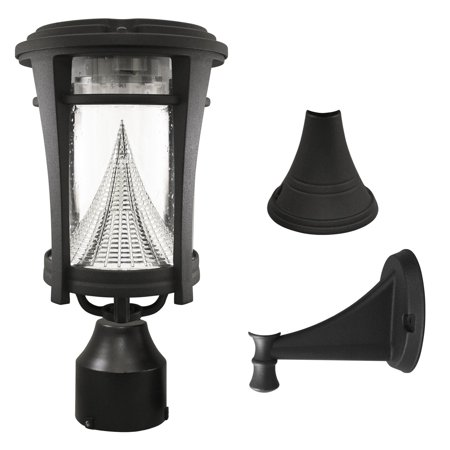 Gama Sonic Aurora Solar LED Light Fixture with Mounting Kit