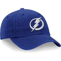 NHL Men's Tampa Bay Lightning Primary Logo Blue Adjustable Hat