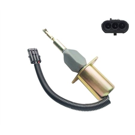 DIESEL SHUT OFF SOLENOID 3958176 For Cummins Solenoid Fuel Pump 24V