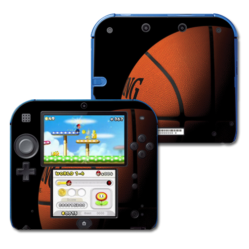 Mightyskins Protective Vinyl Skin Decal Cover for Nintendo 2DS wrap sticker skins Gameball