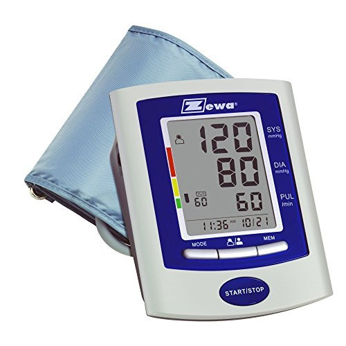 2 Zewa Automatic Deluxe Model Blood Pressure Monitors, Extra Large Display