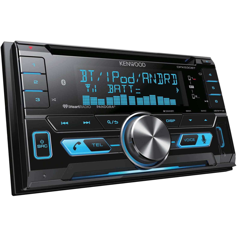 Kenwood DPX530BT Dual DIN AAC/WMA/WAV/MP3 AM/FM/CD Receiver