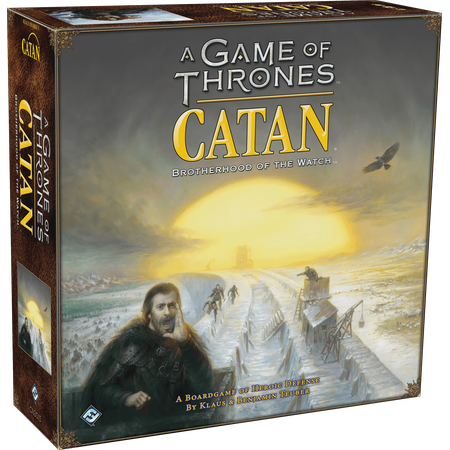 A Game of Thrones Catan: Brotherhood of the Watch Strategy Board Game](Game Of Thrones Cloak Pattern)